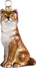 Shiba Inu (Red) Dog Ornament