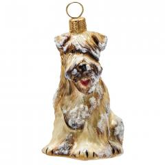Soft Coated Wheaten Terrier (Snowy) Dog Ornament