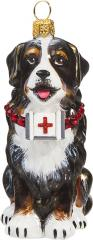 Bernese Mt Dog w/First Aid Kit Ornament
