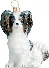Papillon Dog Ornament