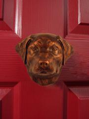 Labrador Retriever Dog Knocker