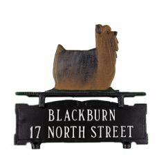 Yorkshire Terrier Mailbox Sign