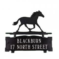 Horse Mailbox Sign