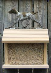 German Shorthaired Pointer Bird Feeder