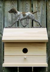German Shorthaired Pointer Dog Bird House
