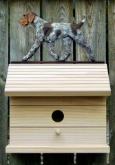 German Wirehaired Pointer Birdhouse