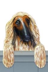 Afghan Hound Door Topper