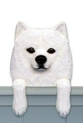 American Eskimo Door Topper