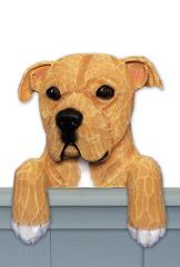 Amstaff Terrier (Natural) Door Topper
