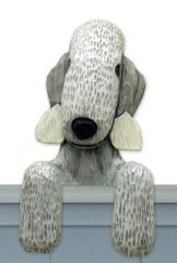 Bedlington Terrier Door Topper