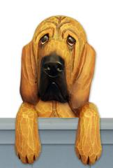 Bloodhound Door Topper