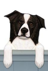 Border Collie Door Topper