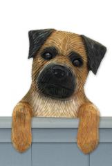Border Terrier Door Topper