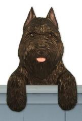 Bouvier des Flandres Door Topper