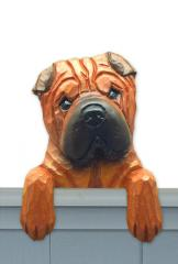 Chinese Shar Pei Door Topper
