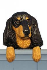 Dachshund (Long Hair) Door Topper