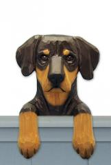 Doberman Pinscher (Natural) Door Topper