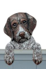 German Wirehaired Pointer Door Topper