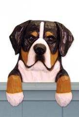 Great Swiss Mt Dog Door Topper