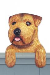 Norfolk Terrier Door Topper