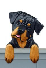 Rottweiler (Silly) Door Topper