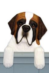 Saint Bernard Door Topper