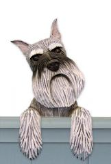 Schnauzer (Miniature) Door Topper