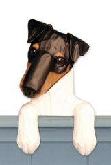 Smooth Fox Terrier Door Topper