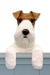 Wire Fox Terrier Door Topper