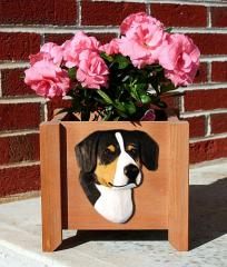 Entlebucher Dog Garden Planter