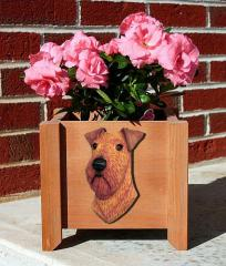 Irish Terrier Garden Planter