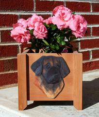 Leonberger Dog Breed Garden Planter