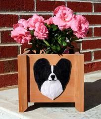 Papillon Garden Planter - Black & White