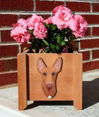 Pharaoh Hound Dog Garden Planter