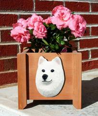 Samoyed Garden Planter