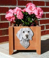 Weimaraner Dog Breed Garden Planter