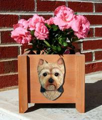 Yorkie Puppy Dog Garden Planter