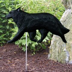 Belgian Sheepdog Dog Garden Stake