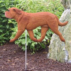 Dogue de Bordeaux Dog Garden Stake