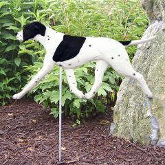 Pointer Dog Garden Stake
