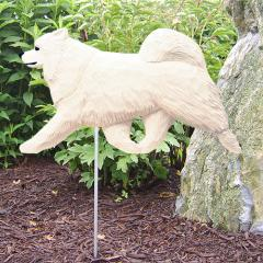 Samoyed Dog Garden Stake