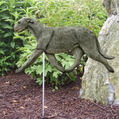 Irish Wolfhound Dog Garden Stake