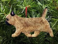 Cairn Terrier Dog in Gait Ornament