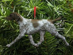 German Shorthaired Pointer Dog in Gait Ornament
