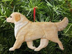 Golden Retriever Dog in Gait Ornament