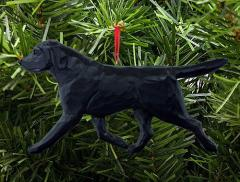 Labrador Retriever Dog in Gait Ornament