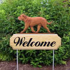 Dogue de Bordeaux Welcome Stake