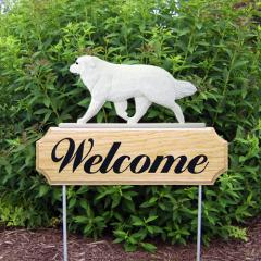 Great Pyrenees Welcome Stake