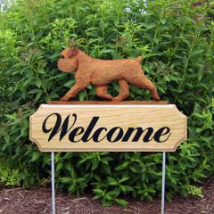 Brussels Griffon Welcome Stake