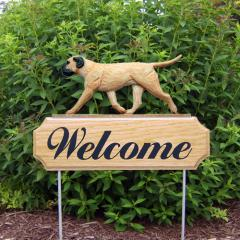 Bullmastiff Welcome Stake